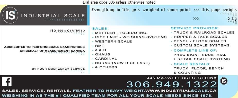Industrial Scale Ltd - Scales Digital Ad