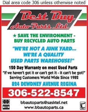 Best Buy Auto Parts Ltd - Auto Parts & Supplies Retail Digital Ad