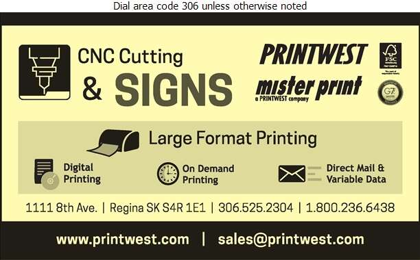 PrintWest Ltd - Signs Digital Ad