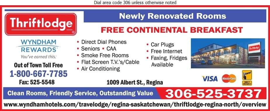 Thriftlodge - Motels Digital Ad