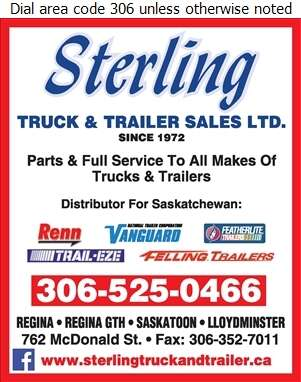 Sterling Truck & Trailer Sales Ltd (Collision Centre) - Trailers Truck Digital Ad