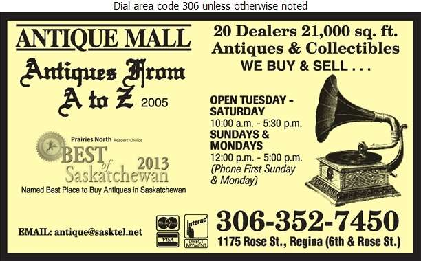 Antiques From A To Z 2005 - Antique Dealers Digital Ad