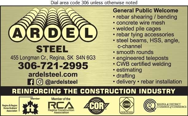 Ardel Steel - Steel Digital Ad