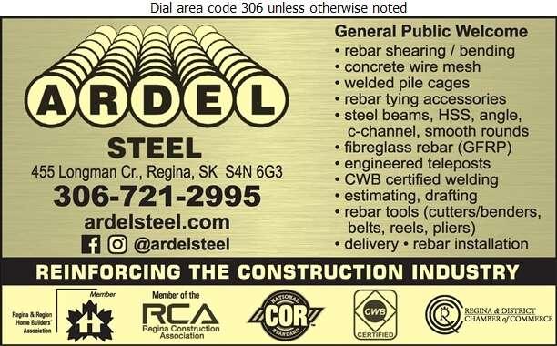 Ardel Steel Inc - Steel Digital Ad