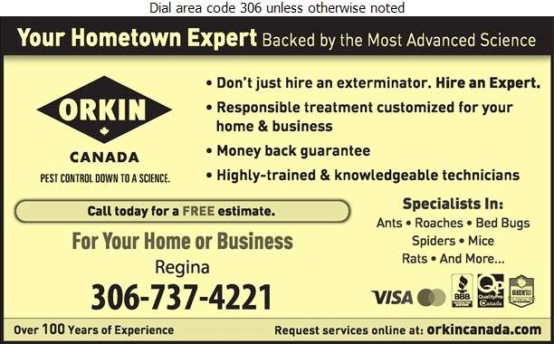 Orkin Canada - Extermination & Fumigation Pest Control Digital Ad