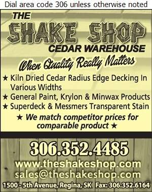 The Shake Shop - Decks Construction & Maintenance Digital Ad