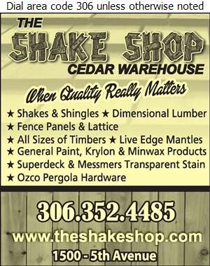 The Shake Shop - Lumber Retail Digital Ad