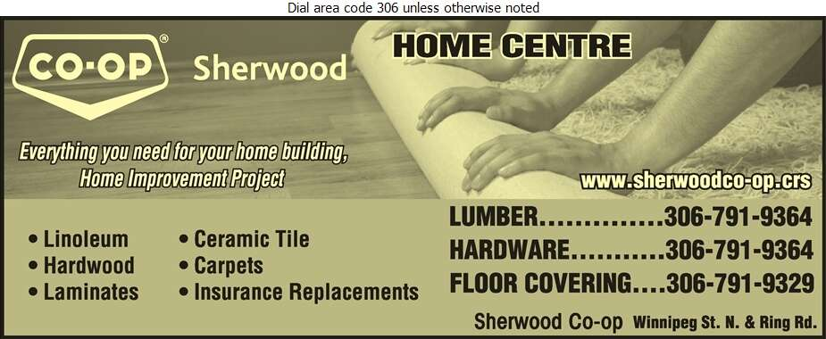 Sherwood Co-Op Home Centre - Carpets & Rugs Retail Digital Ad