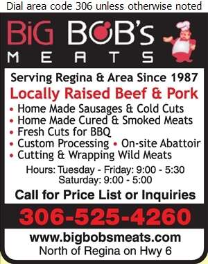 Big Bob's Meats Ltd - Meat Markets Digital Ad