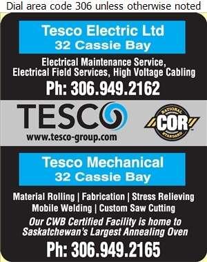 Tesco Mechanical - Welding Digital Ad