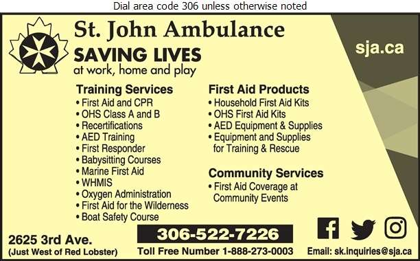St John Ambulance - First Aid Services Digital Ad