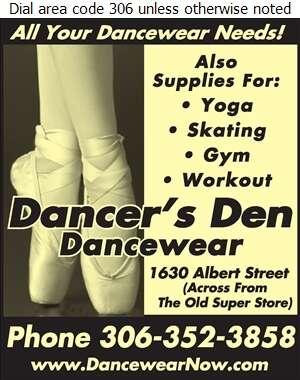 Dancer's Den Dancewear - Dancing Supplies Digital Ad