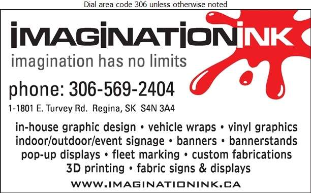 Imagination Ink - Signs Digital Ad