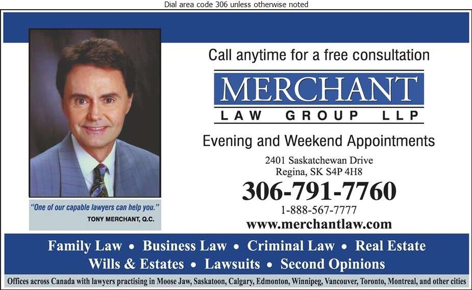 Merchant Law Group LLP (Brar Iqbal) - Lawyers Digital Ad