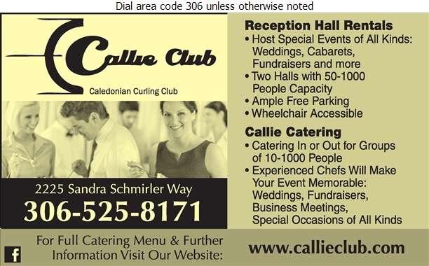 Caledonian Curling Club - Halls & Auditoriums Digital Ad