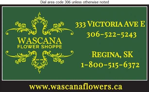 Wascana Flower Shoppe - Florists Retail Digital Ad