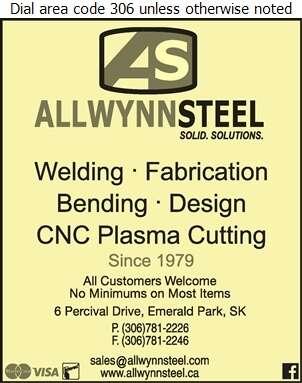 Allwynn Steel - Welding Digital Ad