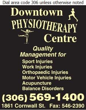 Downtown Physiotherapy Centre - Physical Therapy Digital Ad