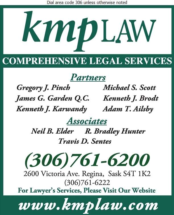 KMP Law - Lawyers Digital Ad