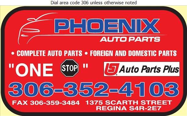 Phoenix Auto Parts Ltd - Auto Parts & Supplies Retail Digital Ad