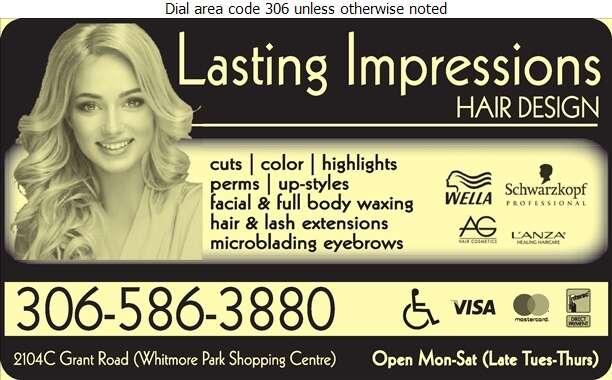 Lasting Impressions Hair Design - Beauty Salons Digital Ad