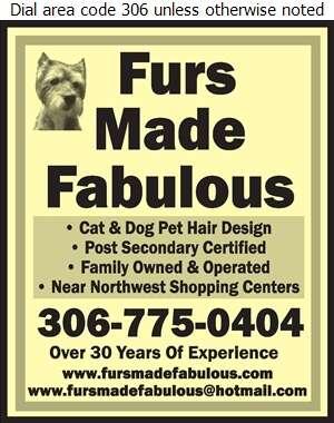 Furs Made Fabulous - Pet Washing & Grooming Digital Ad