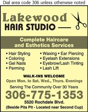 Lakewood Hair Studio Ltd - Beauty Salons Digital Ad