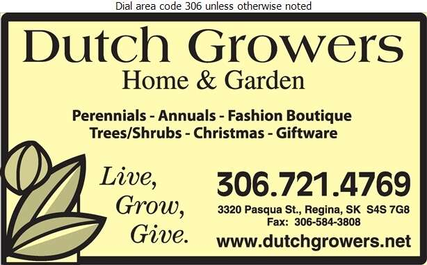 Dutch Growers Home & Garden - Garden Centres Digital Ad