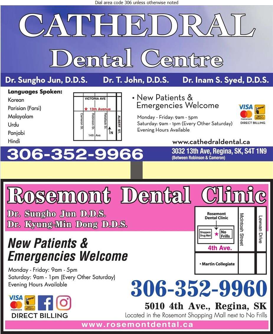 Cathedral Dental - Dentists Digital Ad