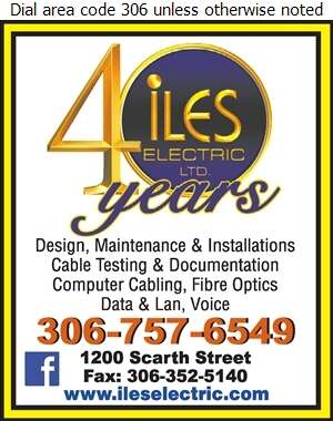 Iles Electric Ltd - Computers - Room Installation, Equipment & Maintenance Digital Ad
