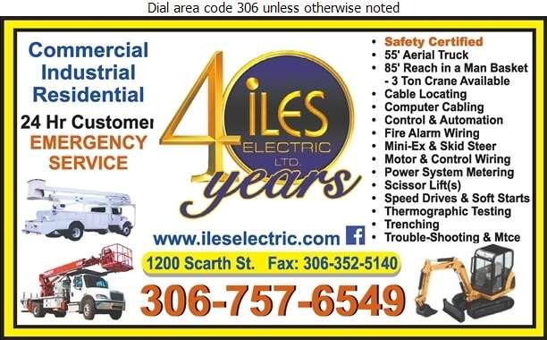 Iles Electric Ltd - Electric Contractors Digital Ad