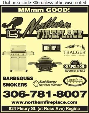 Northern Fireplace Ltd - Barbecue Equipment & Supplies Digital Ad