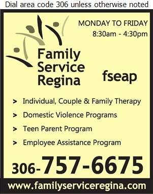 Family Service Regina - Counselling Digital Ad