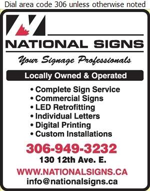 National Signs Ltd - Signs Digital Ad