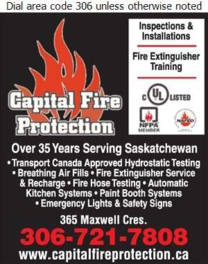 Capital Fire Protection Ltd - Fire Extinguishers Digital Ad