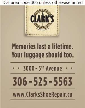 Clark's Luggage & Shoe Repair - Luggage Retail Digital Ad