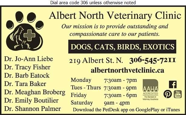 Albert North Veterinary Clinic - Veterinarians Digital Ad