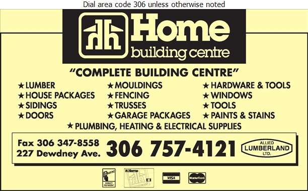Home Building Centre - Lumber Retail Digital Ad