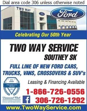 Two Way Service Ltd - Auto Dealers Used Cars Digital Ad