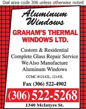 Graham's Thermal Windows Ltd - Windows Digital Ad