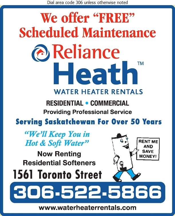 how to cancel reliance water heater rental