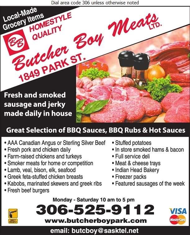 Butcher Boy Meats Ltd - Meat Markets Digital Ad