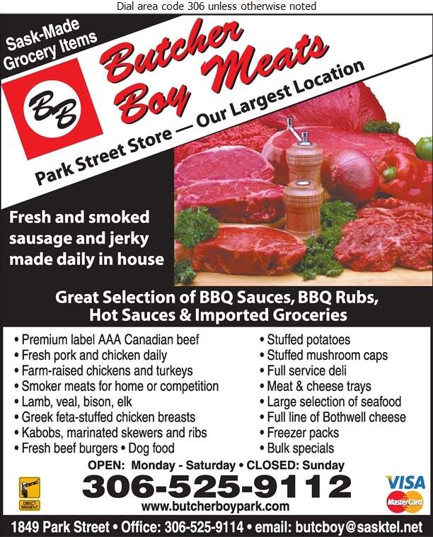 Butcher Boy Meats Ltd (Administration Office) - Meat Markets Digital Ad