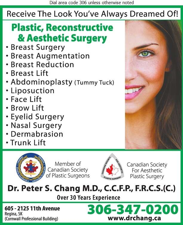 Chang P S Dr - Physicians & Surgeons Digital Ad