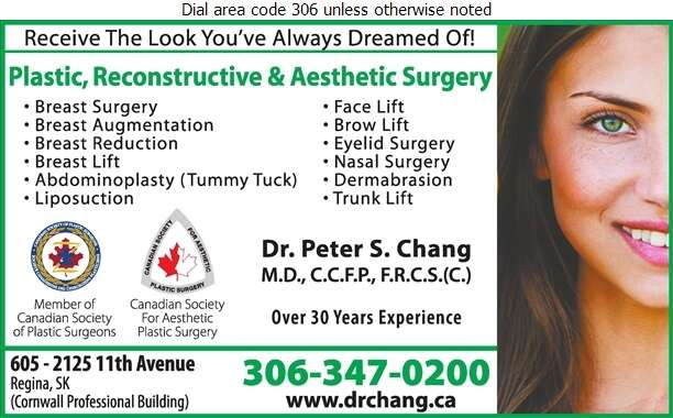 Chang P S Dr (24 HR ANSWERING SERVICE) - Cosmetic Surgery Digital Ad