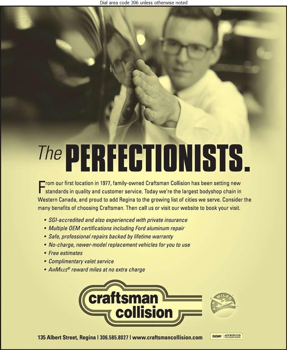 Craftsman Collision Auto Body Repair - Auto Body Repairing Digital Ad