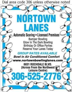 Nortown Bowling Lanes - Bowling Digital Ad