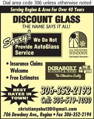 Discount Glass - Shower Doors & Enclosures Digital Ad