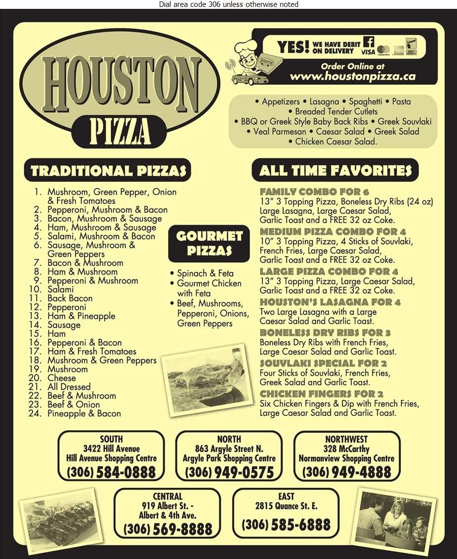 Houston Pizza - Pizza Digital Ad