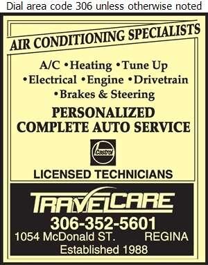 Travelcare - Auto Repairing Digital Ad